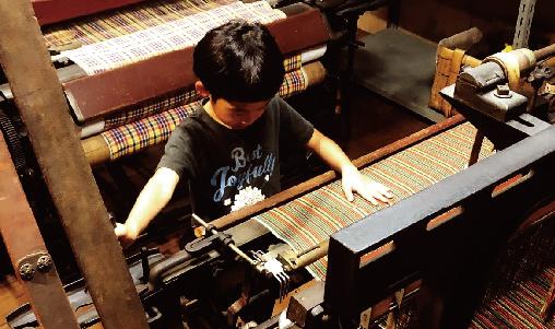 織物の写真3