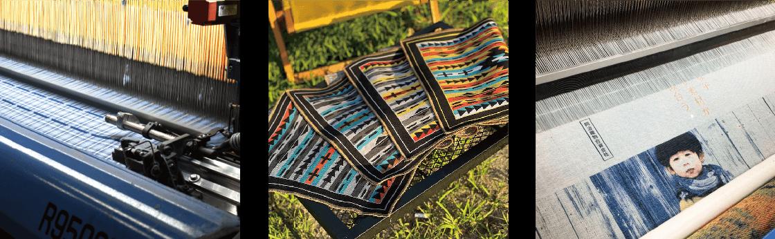 織物の写真2